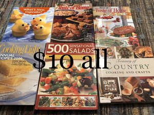 Cook books for Sale in Universal City, TX