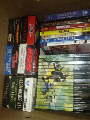 Lot: VHS and DVDs for Sale in Kansas City, MO
