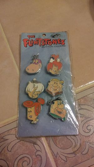 1994 THE FLINTSTONES BUTTON COVERS for Sale in Baltimore, MD