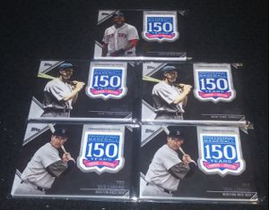 2019 Topps 150 Years of Baseball Commemorative Patch Cards for Sale in Joliet, IL