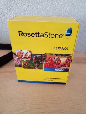 Rosetta Stone Spanish Levels 1-3 for Sale in Chandler, AZ
