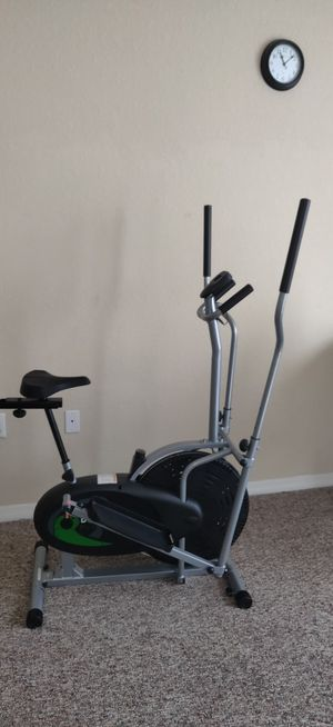 Elliptical Trainer and Exercise Bike 2 in 1 Cardio Workout Machine for Sale in Clearwater, FL