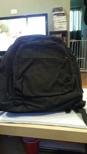 Simple black backpack for Sale in Hazel Park, MI