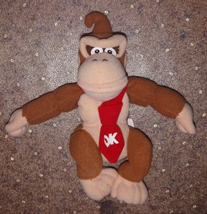 Vintage Donkey Kong Nintendo beanie figure / plush toy for Sale in Bellingham, WA