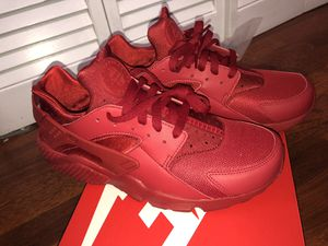 Huaraches Red size 10.5 for Sale in Miami, FL