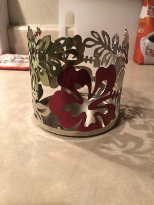 Hibiscus Candle Holder for Sale in Modesto, CA