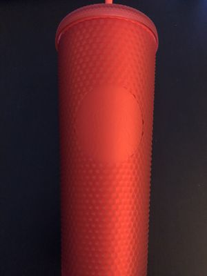 *$45* BNWT STARBUCKS RED SOFT STUDDED TUMBLER for Sale in Temple City, CA