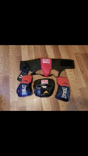 Boxing Equipment. for Sale in Houston, TX