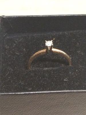 DIAMOND SOLITAIRE RING for Sale in Springfield, VA