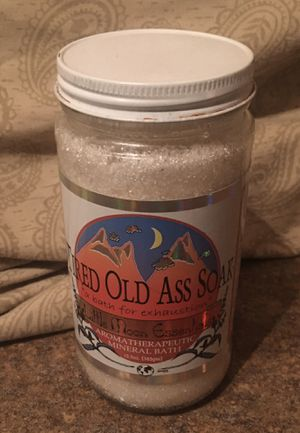 Tired Old Ass Aromatherapy Display Bottle for Sale in Fox Lake, IL