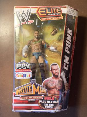 CM Punk WWE elite Series. TRU exclusive. Wrestlemania. for Sale in Woodlyn, PA