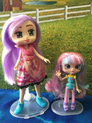 1 Boxy Girl Doll & 1 Shopkins Shoppie Doll for Sale in Tampa, FL