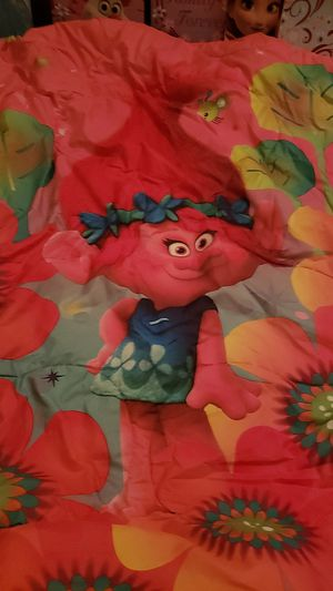 Full size troll bed spread with pillow case for Sale in Bristol, CT