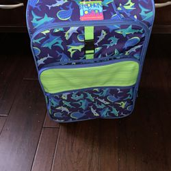 Kids Shark Print Carry On Suitcase for Sale in Winter Garden,  FL