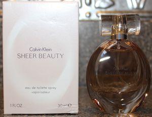 Calvin Klein Sheer Beauty Fragrance 1oz for Sale in Zephyrhills, FL