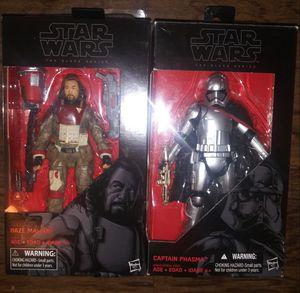 Star wars black series action figures for Sale in San Antonio, TX