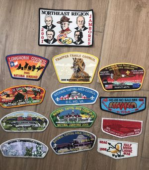 National Jamboree Boy Scouts BSA Patches Vintage for Sale in Austin, TX