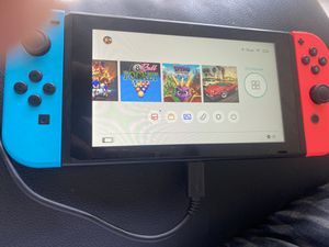 Nintendo switch with 10 games for Sale in Homestead, FL