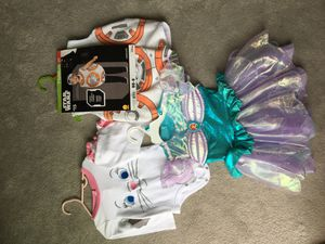 Disney costumes - Marie, Ariel, BB8 for Sale in Carlsbad, CA