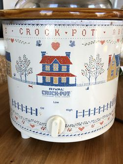 Rival Crockpot With Removable Bowl for Sale in Oceanside,  CA