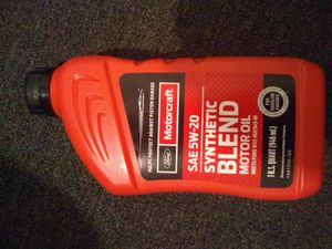 Motorcraft Synthetic oil 5w-20 New 8 quarts for Sale in Los Angeles, CA