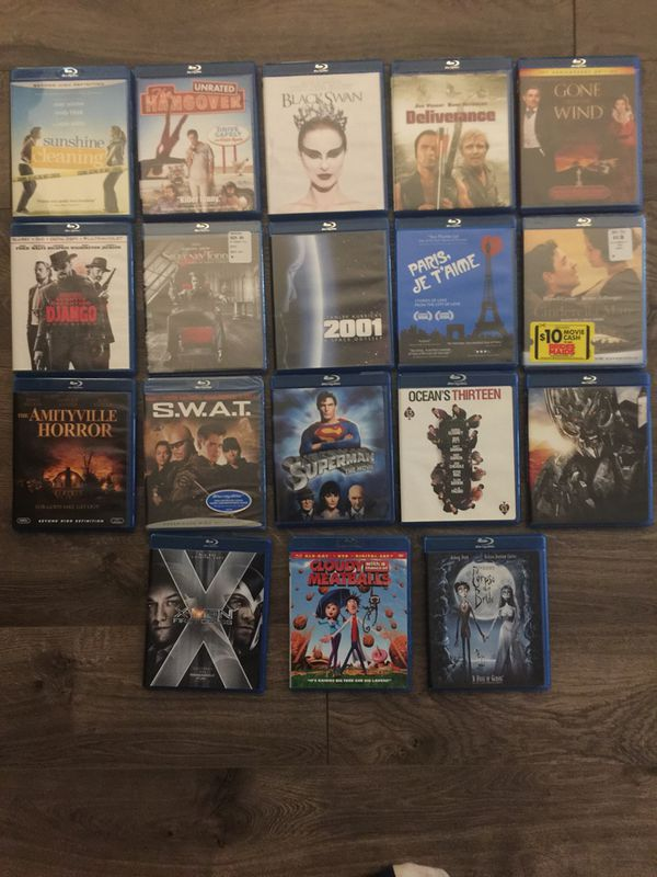 Blu-ray Lot - 125+ Blu-ray DVDs all in excellent condition