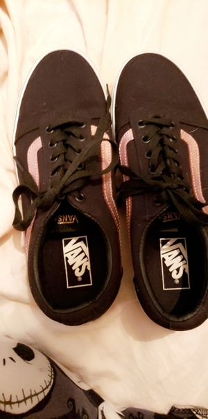 Rose gold Van's size 10W for Sale in Nicholasville, KY
