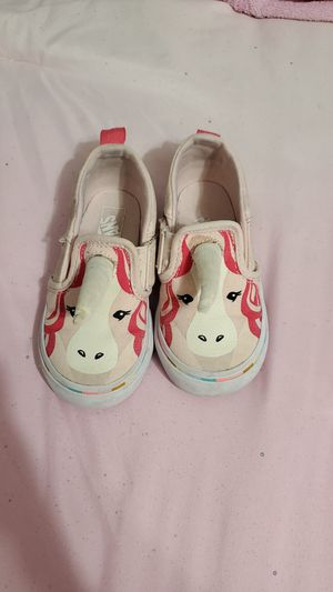 Unicorn Van's baby shoes size 6.5 for Sale in Mesquite, TX