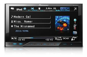 """Pioneer AVH-P4300DVD 7"""" In-Dash Double-DIN DVD AV Receiver with iPod/iPhone Control for Sale in Plainfield, IL"""
