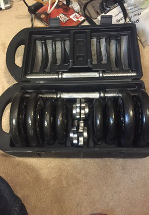 Cap barbells 40 pounds for Sale in Westminster, CO
