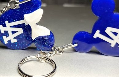 Custom Made Mickey And Minnie Keychains for Sale in Whittier,  CA