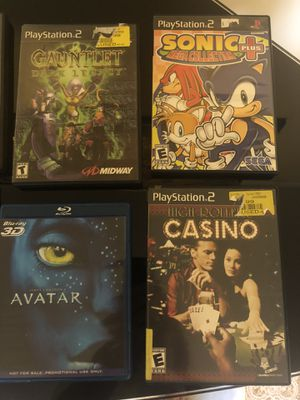 PlayStation 2 games and movie DVDs for Sale in Asbury Park, NJ