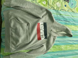 Grey Levi's Logo Hoodie for Sale in Plant City, FL