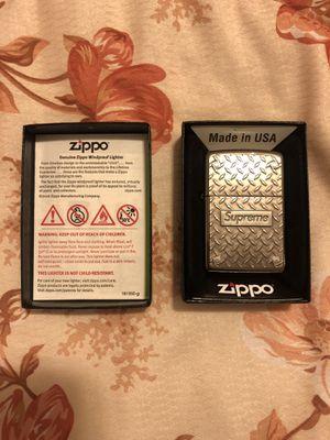 Supreme Diamond Plate Zippo for Sale in Garden Grove, CA