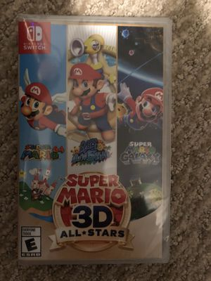 Super Mario 3D All Stars (Nintendo Switch) Physical Version / BRAND NEW for Sale in Sterling, VA
