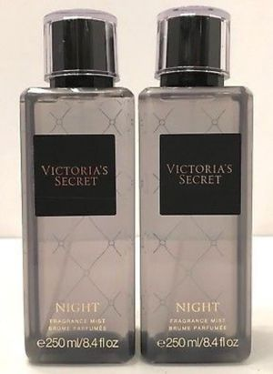 🖤 Victoria's Secret 🖤 NIGHT Fragrance Mist 8.4 fl.oz. 🖤 2pc. Bundle 🖤 $95 🖤 Gifts for all occasions! for Sale in Pomona, CA