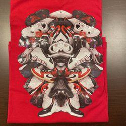 Nike Jordan History Of Jordan Sneaker Pile T-Shirt LARGE New Old Stock for Sale in Mountlake Terrace,  WA
