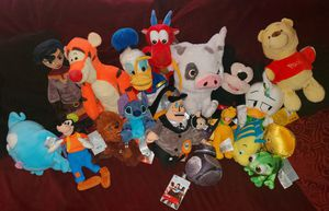 Disney Plush Characters NWTS for Sale in Morrisville, PA