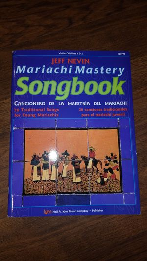 Violin Mariachi Song Book for Sale in Dumfries, VA