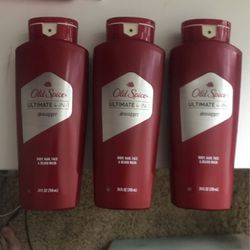 Old Spice 4 in 1---three 24 fl. oz. bottles for Sale in Cypress,  TX