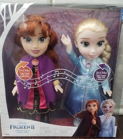 Frozen 2 Singing Doll Set for Sale in Stockton,  CA