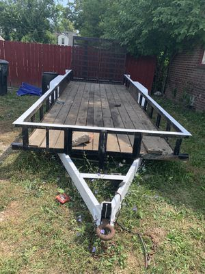 Trailer 22 foot long for sale 3500 for Sale in Detroit, MI