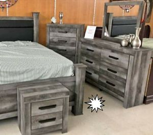 🧿BRAND NEW 🧿Wynnlow Gray Poster Bedroom Set | B440 for Sale in Jessup, MD