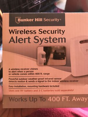 WIRELESS SECURITY SYSTEM for Sale in Highland, CA