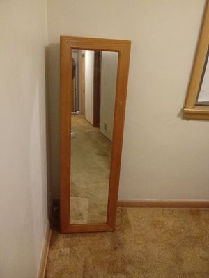 Glass Mirror Jewelry Box for Sale, used for sale  Wauwatosa, WI