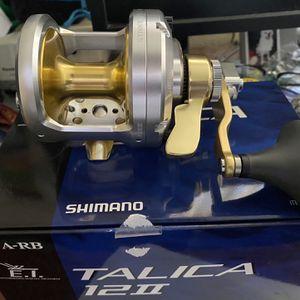 Brand New Shimano Talica 12 2 Speed for Sale in Orange, CA