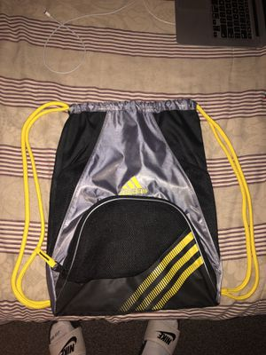 Yellow adidas string backpack for Sale in Los Angeles, CA