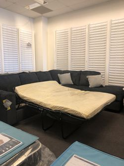 Sofa sectional sleeper for Sale in Granite City,  IL