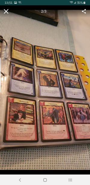 Harry potter trading cards for Sale in Stoughton, MA