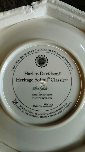 Harley collectable plate for Sale in Lubbock, TX